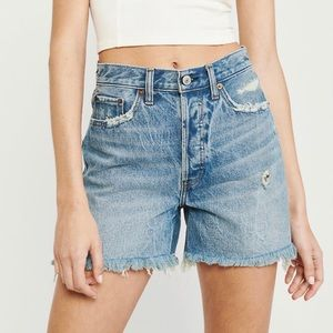 *NEW* High Rise Denim Shorts